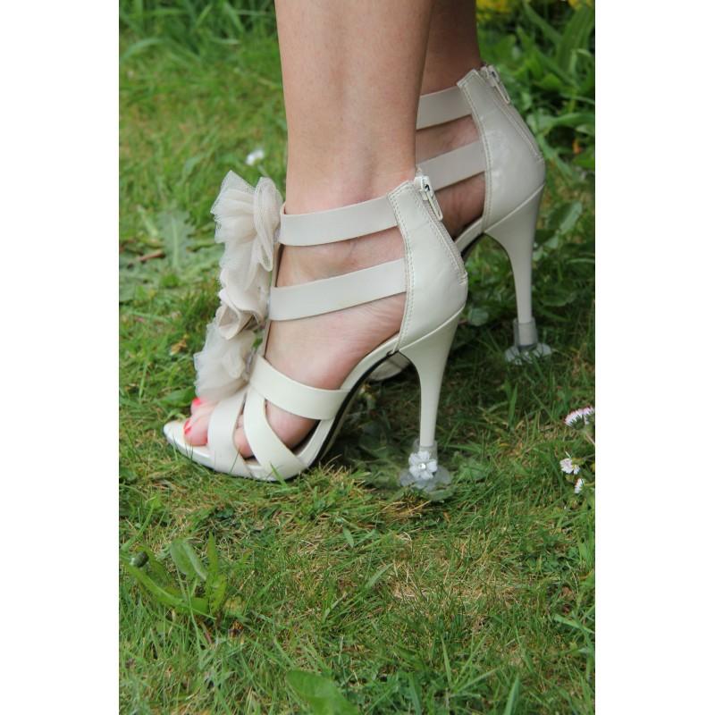 Heel Stoppers - Plain Clear Klackskydd