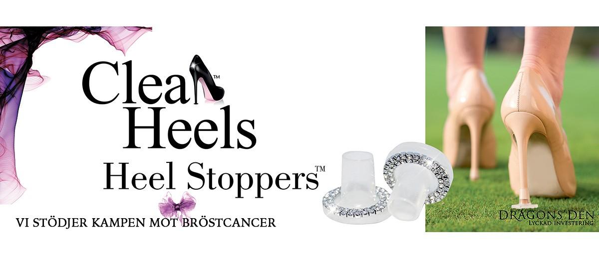 Clean Heels Heel Stoppers Banner